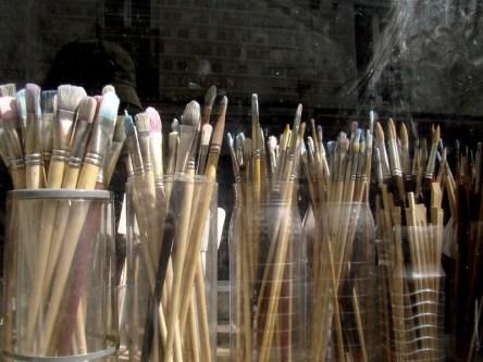 Sklep dla artystów przy Rue la Vieuville