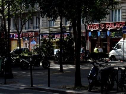 Boulevard de Clichy- sklepy z artykułami erotycznymi