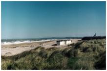 Wydmy nad kanałem La Manche