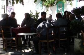 Anogia- Mężczyźni w kafenionie.