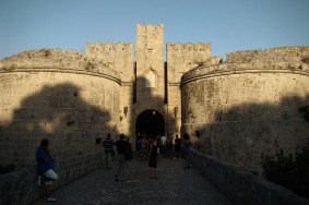 Miasto Rodos- Pałac Wielkich Mistrzów