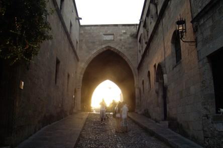 Miasto Rodos- ulica Rycerzy