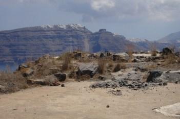 Oia- wulkaniczny krajobraz