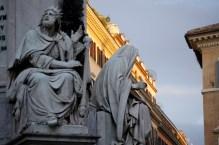 Plac Hiszpański- Kolumna Niepokalanego Poczęcia Najświętszej Maryji Panny