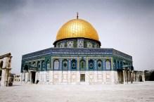 JEROZOLIMA- Wzgórze Świątynne- meczet -Kopuła na skale