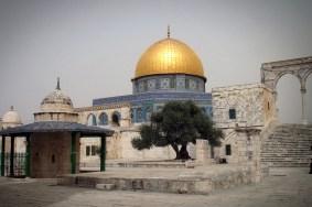 JEROZOLIMA-Wzgórze Świątynne- meczet -Kopuła na skale