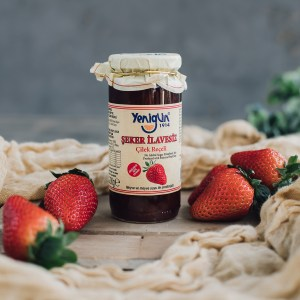 290 G, Strawberry jam without sugar addition