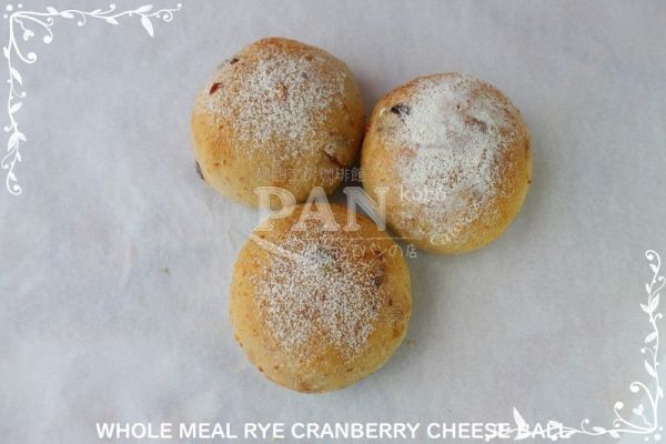 WHOLEMEAL RYE CRANBERRY CHEESE BY JAPANESE BAKERY IN MALAYSIA