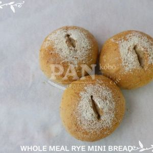 WHOLEMEAL RYE MINI BREAD BY JAPANESE BAKERY IN MALAYSIA