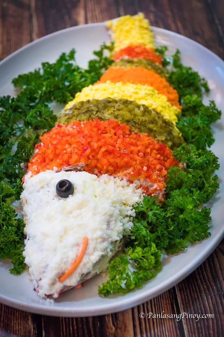 steamed fish with mayonnaise recipe