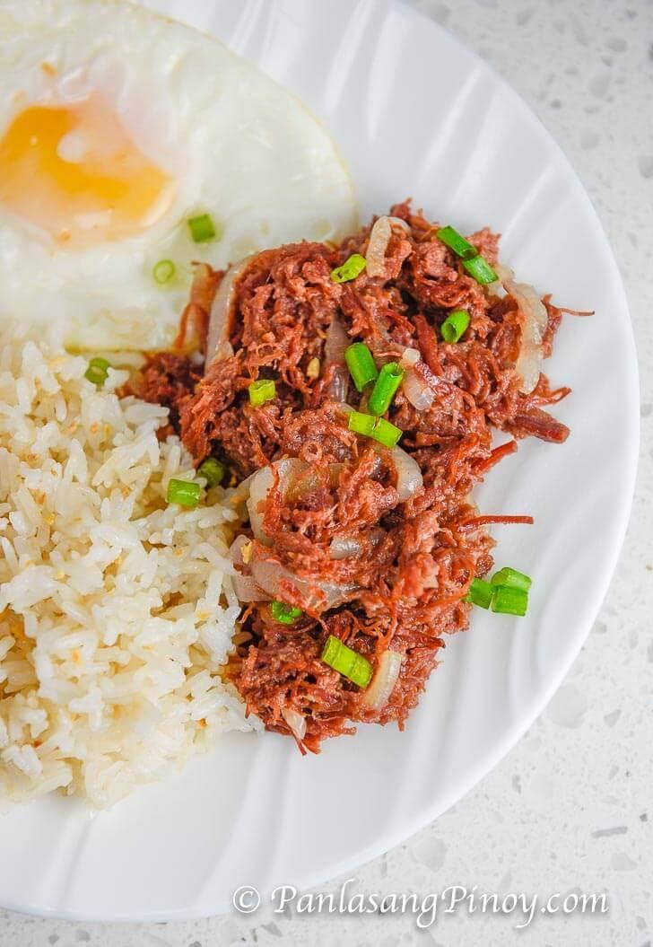 Corned Beef Silog - Panlasang Pinoy