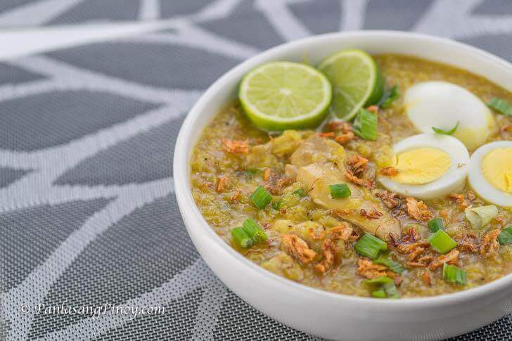 how to cook lugaw recipe