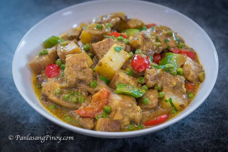 pork and chicken curry recipe