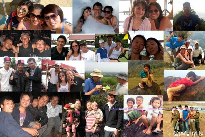 friends from Singapore, Malaysia, China, Lombok, Bali, Sabah
