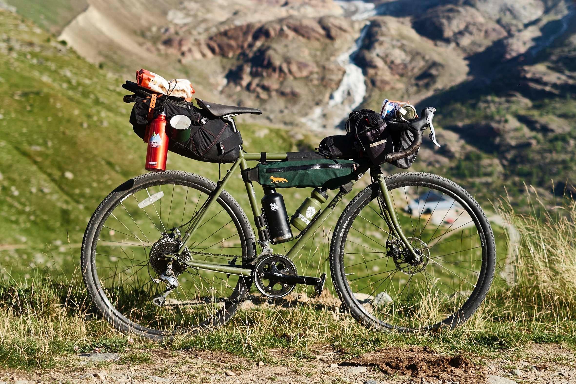 Ortler Loop Bikepacking Stelvio South Tyrol Pannier