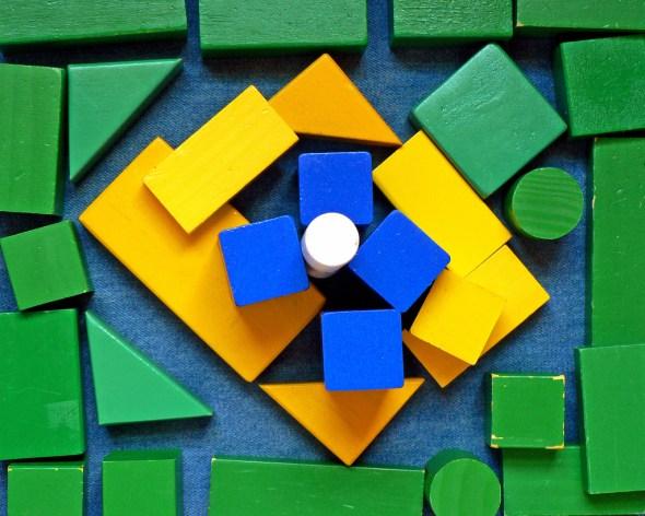 Bandeira do Brasil, criação fotográfica de Culiculicz.