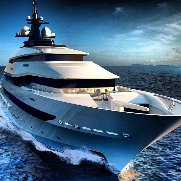 Yacht Of The Most Beautiful Images Panorama 4 Piano