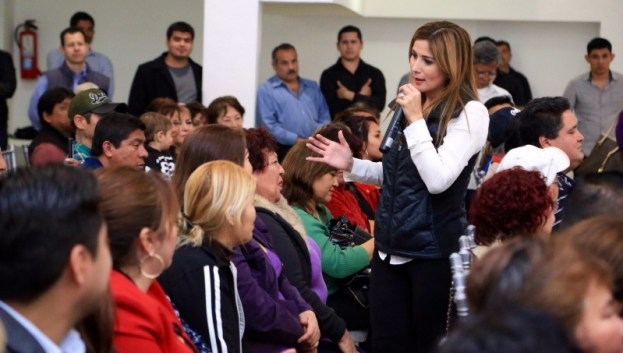 Se reunió con panistas del municipio de Guadalupe