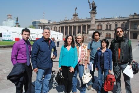 Representantes de algunas organizaciones señalan su oposición hacia el proyecto Monterrey VI.