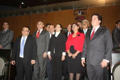 Los diputados suplentes tomaron protesta a su cargo