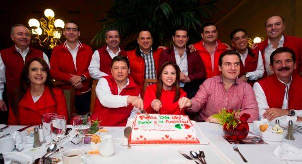 Festejaron en unidad el 14 de febrero