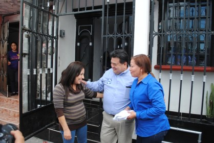 Braulio Martínez continúa con sus recorridos por todo el municipio