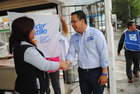 Un alcalde que sale a la calle, que sabe de las necesidades de su gente, ese es el gobierno que desea poder llevar a cabo Héctor Castillo Olivares en su municipio, para lo cual trabajar en su campaña electoral.