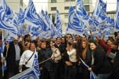 Unos 150 militantes acompañaron a Robledo