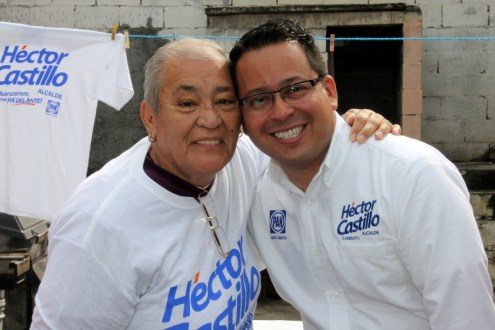 Se preocupa Héctor Castillo por los abuelitos.