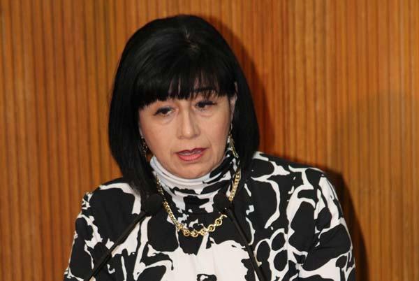 María Dolores Leal defendió la paridad de genero en Nuevo León