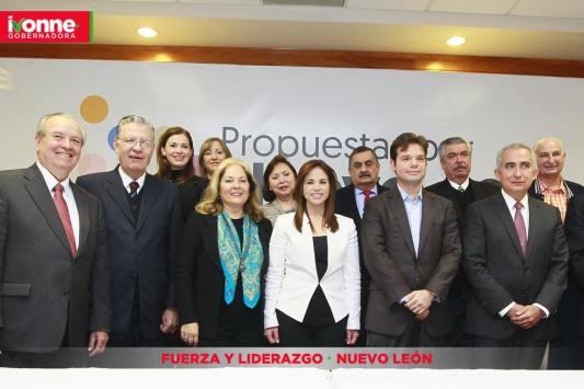 El equipo de la plataforma Propuesta por Nuevo León fue presentado.