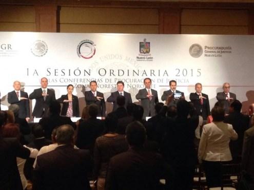 Se reúnen Procuradores de la zona Norestes y Noroeste del país.