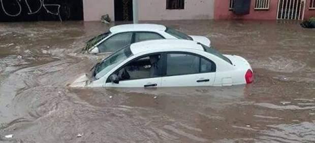 Las lluvias provocan inundaciones en toda la ciudad. Foto: archivo