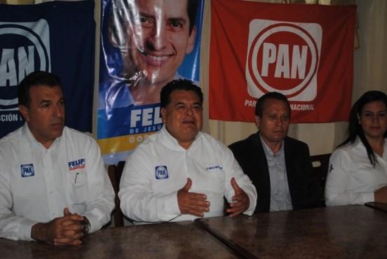 Se reúnen candidatos a diversos puestos de elección popular del PAN por Apodaca.