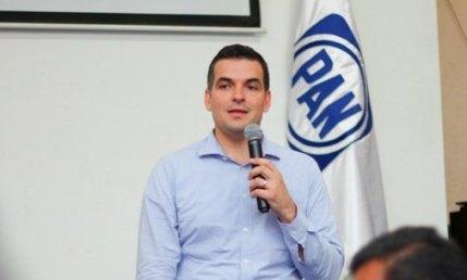 Mauro Guerra Villarreal, dirigente estatal del PAN