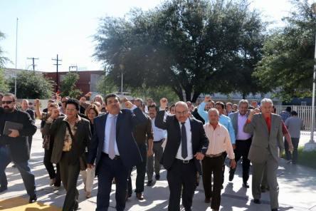Protestaron en la Secretaría de Educación estatal