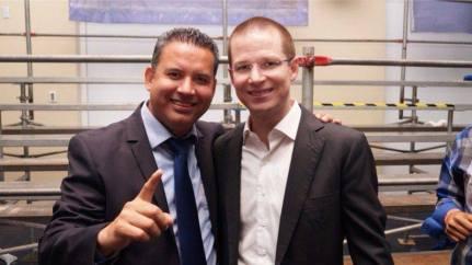 Francisco Bustillos y Ricardo Anaya