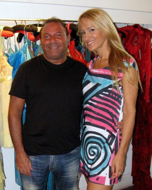 Fabio Assad visita el atelier de Patricia Profumo