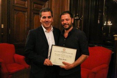 Cristian Ritondo y Martín Churba