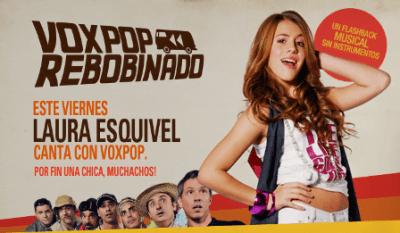 Laura Esquivel canta con VOXPOP