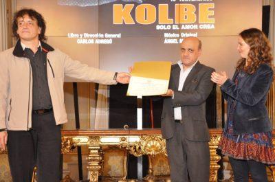 El musical Kolbe fue declarado de interés cultural