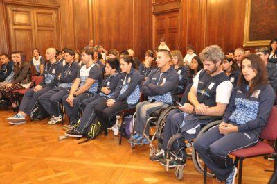 Morales Gorleri destacó a los atletas de los Juegos Parapanamericanos de Toronto 2015