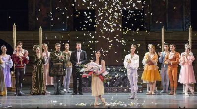 Paloma Herrera tuvo su emotiva despedida de los escenarios en el @TeatroColon