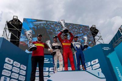 Lucas di Grassi consiguió su segunda victoria en el campeonato de FIA Formula E