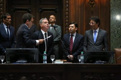 Juraron los diputados electos de la Ciudad