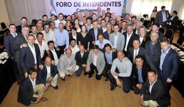 Macri y Vidal reunidos con los intendentes de la Provincia de Buenos Aires