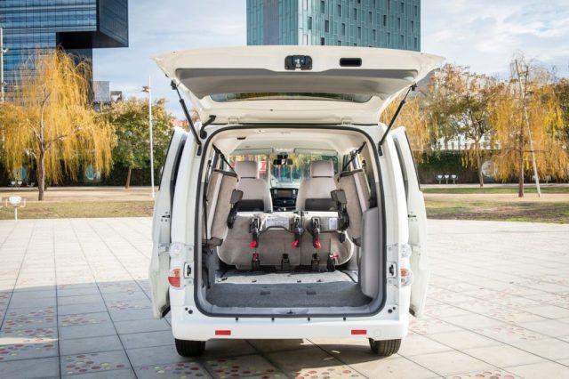 La van eléctrica Nissan e-NV200 expande su rango de autonomía