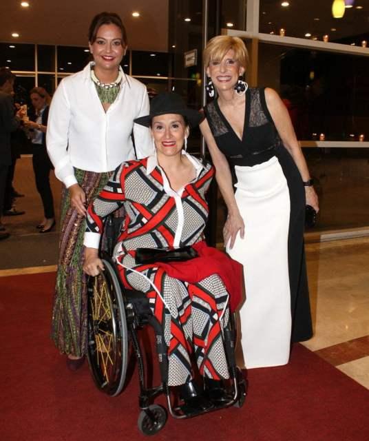 Mariana López Rey, Gabriela Michetti y Any Mestre en La Rural