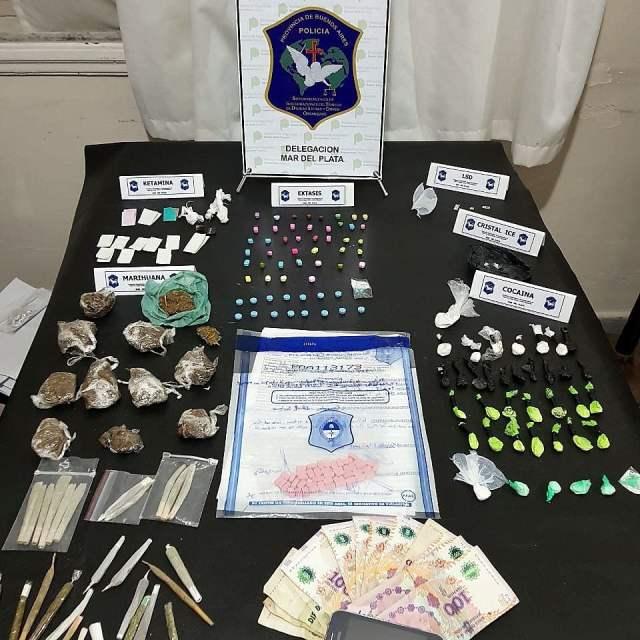 Fiestas electrónicas en Mar del Plata: Casi 200 pastillas de éxtasis secuestradas durante el fin de semana