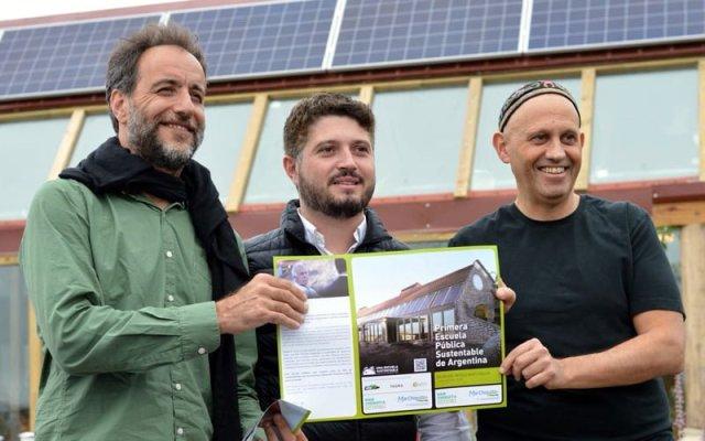 El Ministerio de Ambiente presentó la primera escuela sustentable de la Argentina